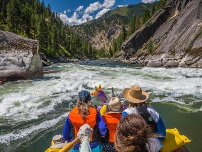 The 3 most adventurous single day rafting trips in Idaho.